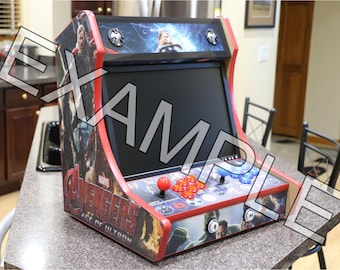 Table Top Arcade Cabinet - T-mold Cuts Included