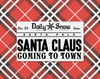 Daily Snow SVG, Daily Snow Sign, Joanna Gaines Christmas SVG, Print, Vector, DXF, Fixer Upper, Magnolia Farms, Rustic, Modern Farmhouse, Art
