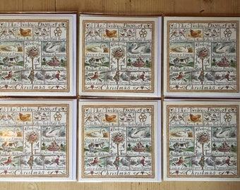 The Twelve days of Christmas , greetings , christmas card