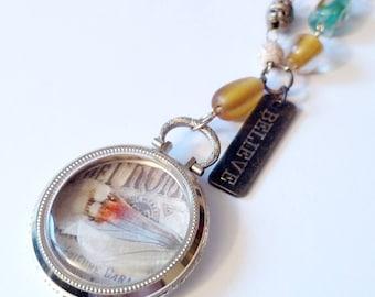 Pocket Watch Locket Necklace