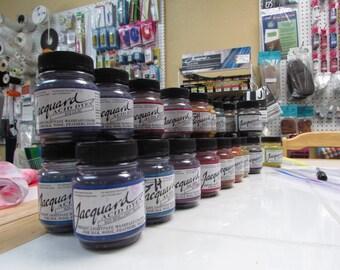 Jacquard Acid Dyes for use on animal fibers, Yarn and Fabric Dye, Crockpot Method Dye, Dye for wool, alpaca, silk, merino, cashmere, angora