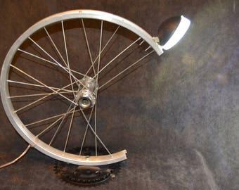Bicycle parts desk lamp