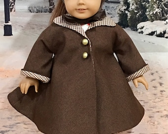 18 inch doll coat and dress