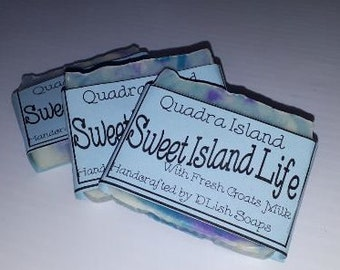 Sweet Island Life Goats Milk Soap