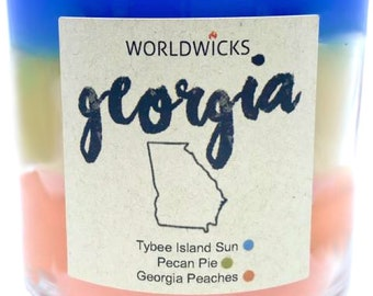 Georgia Triple Scented Candles