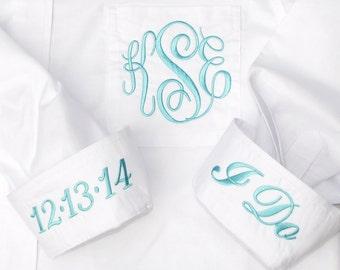 Personalized Bride Wedding Shirt - Wedding Prep Shirt for Bridal Party