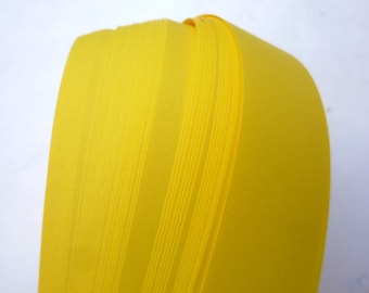 Bright Yellow~ Weaving Star Paper (50 strips)