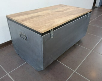 Industrial style storage box