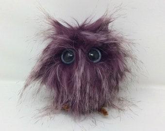 Owl Decoration, OOAK Owl, Owl Plush, Owl Ornament
