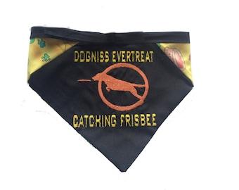 Dogniss Evertreat. Hunger Games-inspired bandana