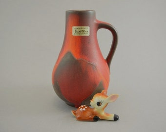 Vintage vase / Carstens Toennieshof / model 6015 15 | West Germany | WGP | 70s