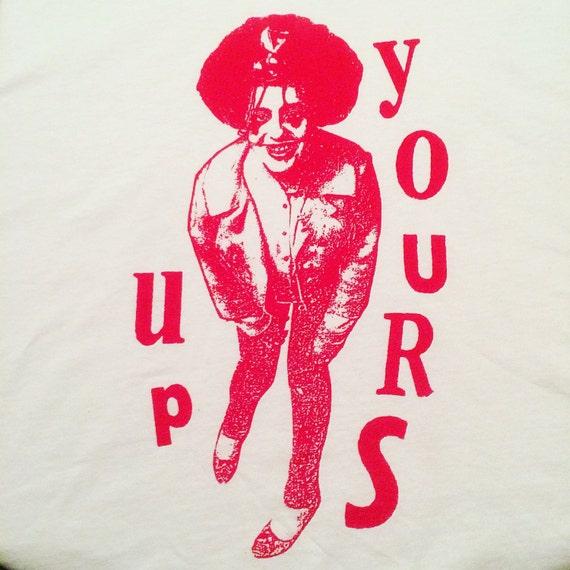 X-Ray Spex Poly Styrene shirt