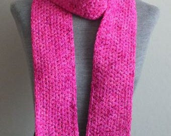 412 - Hot Pink Child's Scarf