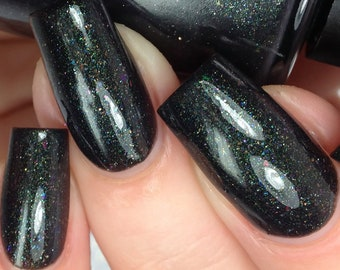 Everything Under the Kitchen Sink - Black Indie Nail Polish