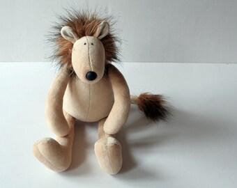 Fluffy Lion Plushie
