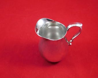 Vintage Reed And Barton Silver Plate Creamer