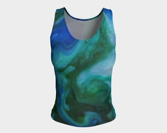 underwater fitted tank top