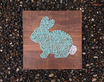 MADE TO ORDER- Bunny Rabbit String Art