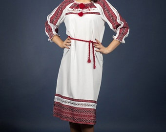 Vyshyvanka. Fashion embroidered dress. Ukrainian Women's dress. Vyshyvanka dress. УКРАИНСКОЕ ВЫШИТОЕ ПЛАТЬЕ