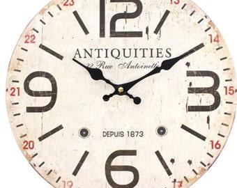 Distressed Vintage clock