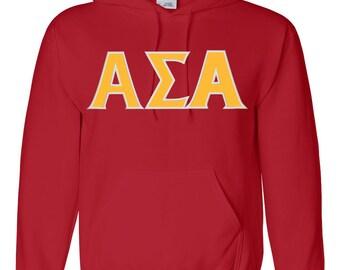 Alpha Sigma Alpha, ASA, Alpha Sigma Alpha shirt, ASA hoodie, Alpha Sigma Alpha letter shirt, Alpha Sigma Alpha Apparel, greek letters