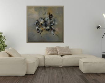 original abstract painting. Metamorphosis