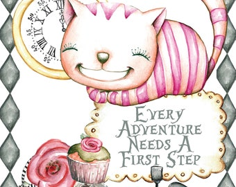 Cheshire Cat,Alice in Wonderland,Alice,Wall Art,Printable Art,Alice in Wonderland Printable,Alice in Wonderland Decor,Downloadable art