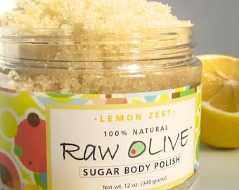 Lemon Zest Organic Sugar Scrub