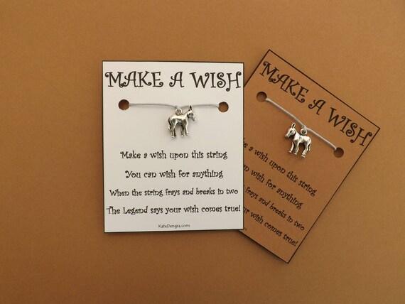 Little Donkey Wish Bracelet