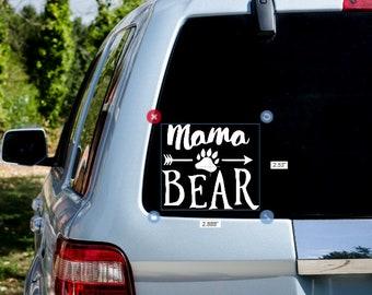 Mama Bear car decal
