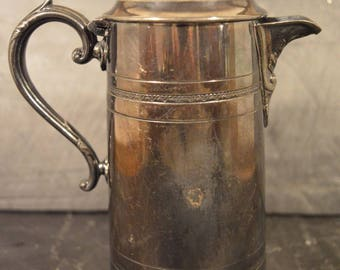 Beautiful Sheffield electroplate milk jug