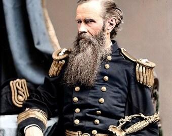 Rear Admiral John Lorimer Worden of the Union Navy , 1862