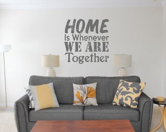Home Is Whenever We Are Together EDE00143
