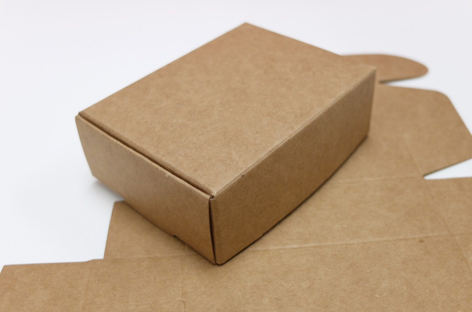 10 Ideas About Cardboard Box Cars On Pinterest: 10pcs Paper Box 3.5 X 2.5 X 1.25 Kraft Paper Box