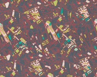 Jay McCarroll PWJY039 Center City Los Angeles Midtown Fabric By Yard