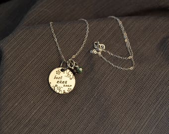 mothers day gift best nana ever necklace personalized nana gift