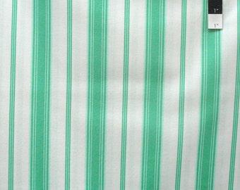 Verna Mosquera VM34 Tea Cakes Sugary Stripe Jade Cotton Fabric By Yd