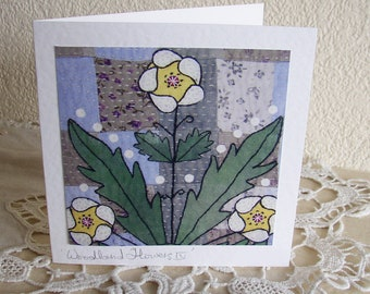 Woodland Flowers (4) Card