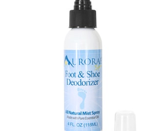 Aurorae's All-Natural Foot & Shoe Deodorizing Spray