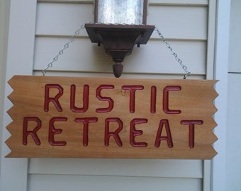 Custom Signs - House - Camper - Retreat - Other