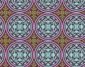 Joel Dewberry Aviary 2 Scrollwork Lilac (Half metre)