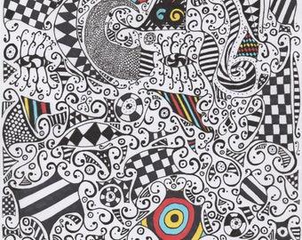 """Doodle """"The Eye"""""""
