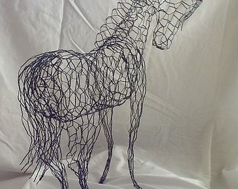 "Wire Horse ""Topiary Horse"""
