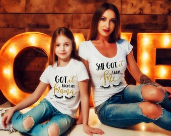 Matching Mother Daughter Outfit, Mom and Baby Shirts, Mommy and Me Outfits, Mother Daughter Shirts, Matching Outfits,Mommy n Me Shirts
