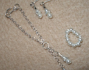 """Fashion doll jewelry for 11.5 """"  Dolls - Your Choice Silver or Gold Tone"""