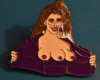 Mary from Total Recall enamel pin