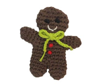 Catnip Gingerbread Man Cat Toy - Choose Your Colors