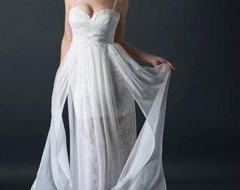 unique wedding dress, lace wedding dress, boho wedding dress, lace wedding gown, lace wedding gown, beach wedding dress