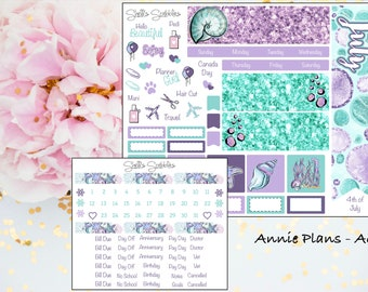 July Montly Kit - Annie Plans - A6 RINGS