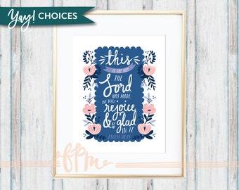 Psalm 118:24 Print